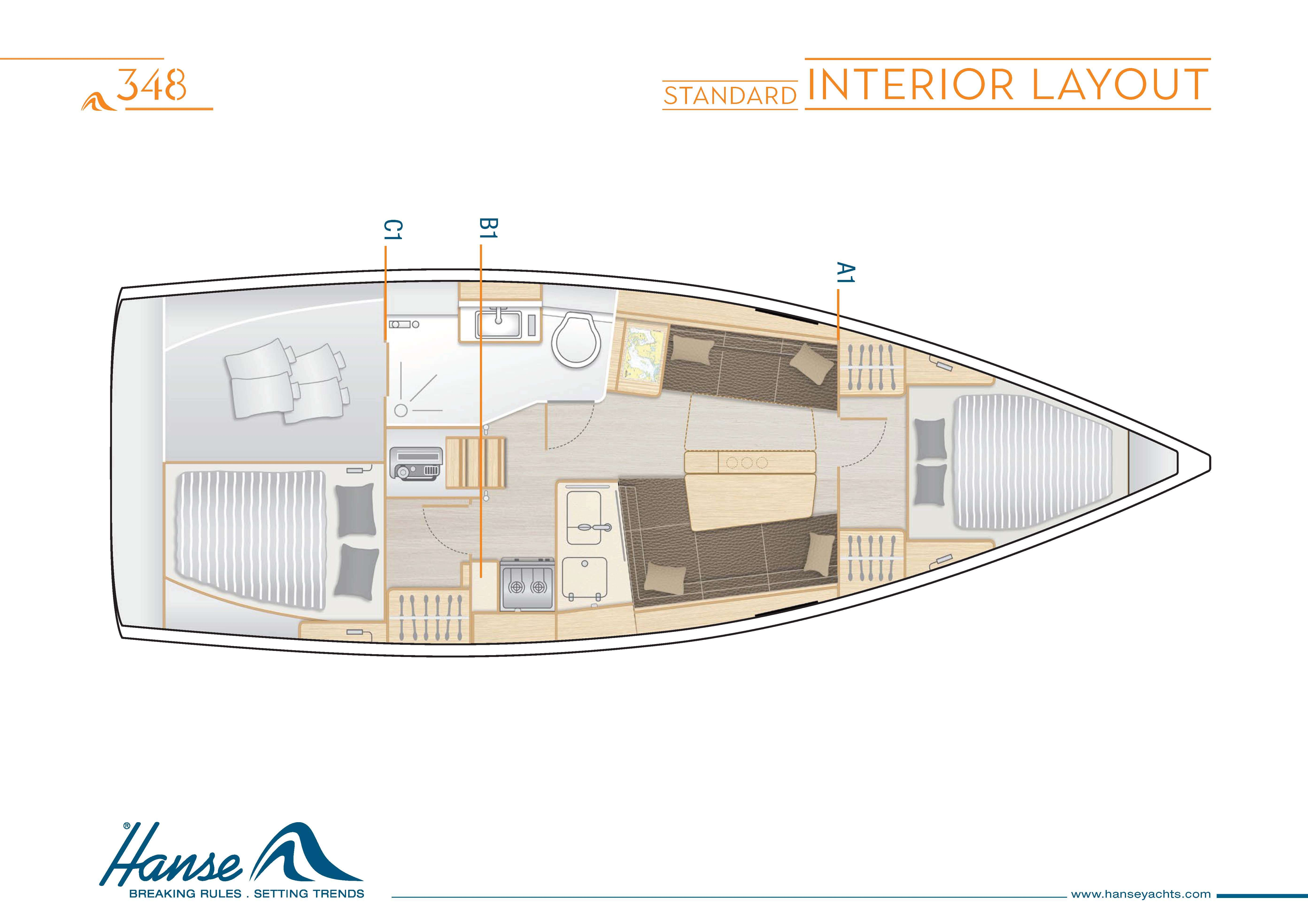 Hanse_348_Interior_Layout_A1_B1_C1